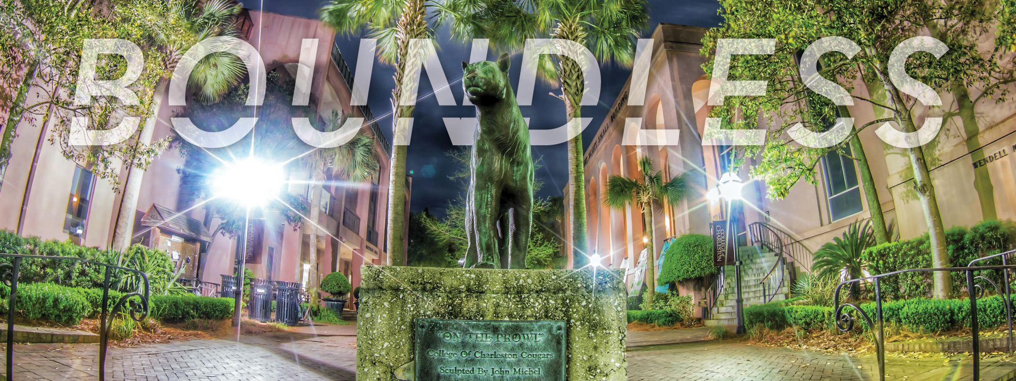 The Cougar Statue in Cougar Mall
